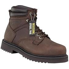 Wolverine Men's Work Boot Shoes BROWN