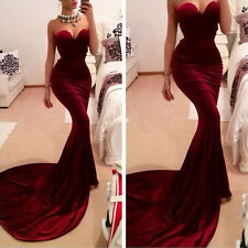 Women Sleeveless Wrap Chest Cocktail Party Long Maxi Formal Evening Gown Dress