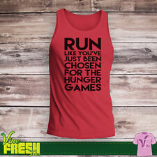 Run Like You've Just Been Chosen For The Hunger Games Tank Top - Gym Train