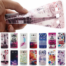 Painting Colorful Soft TPU Gen Skin Rubber Cover Case for Samsung Galaxy phones