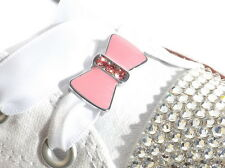 Crystal Shoe Charms that Slide on Shoelaces 4 Converse Trainers Christmas Gift