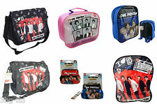 One Direction 1D Various Backpack Messenger Bags Rucksack Lunch Box Purse New