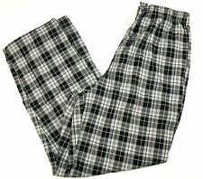 Men's Pajama Pants Joe Boxer Sleepwear Lounge Bottoms Pant Black Grey Plaid