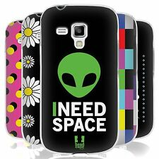 HEAD CASE POP TRENDS SILICONE GEL CASE FOR SAMSUNG GALAXY S DUOS S7562