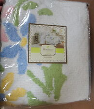 MARY JANE'S HOME COLORFUL CHENILLE BEDSPREAD 100% COTTON TWIN, FULL, QUEEN NEW