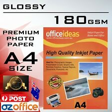 180GSM A4 High Glossy Photo Paper 180GSM for Canon Epson HP Inkjet Laser Printer