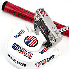 CUSTOM Scotty Cameron mallet Putter FUTURA X5 The USA Edition with headcover