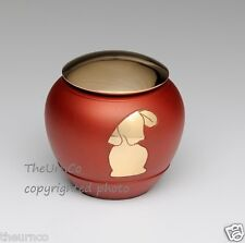 Solid Brass Urns for Cats or Dogs with Brass Silhouette Design - Brand New