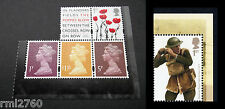 2015 GREAT WAR 1915 Single M15L MPIL Machins + Extras from PSB DY13 Mint