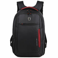 WaterProof Black Red 17.3 Laptop Backpack 15.6 Notebook Bag