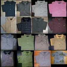 Blue Gray Black Pink Gold Green Ivory Beige M L XL BOBBY JONES S/S Polo Shirts!