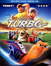 Turbo Blu-ray & DVD 2-Disc Set with Digital Copy Brand NEW & Sealed Free Ship!!!
