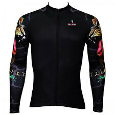 Gypsy lion arm Paladin Cycling Clothing Bike Bicycle Long Sleeve Cycling Jersey