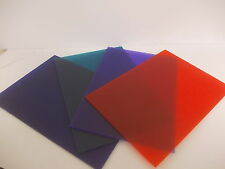 Perspex Acrylic Sheet Frosted  Plastic Material Panel Cut to Size A5 A4 A3 3mm