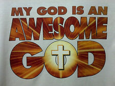 My God Is AWESOME! Christian Witness - Jesus Christ Lord Son  Our Savior T 0