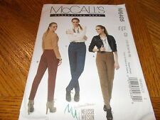 McCalls Pattern M6405 Ms GENERATION NEXT PALMER/PLETSCH Fitted Tapered Pants