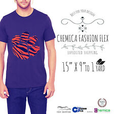 """Chemica Fashion Heat Transfer Vinyl 15"""" X 9"""", 12"""" and 1 YD Choose From 16 COLORS"""