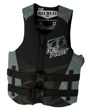 Jet Pilot Recruit Neo CGA Wakeboard Vest Black Mens
