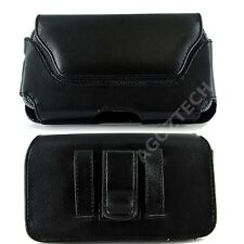 PU Leather Horizontal Belt Clip Case Pouch Cover for Verizon Wireless Cell Phone