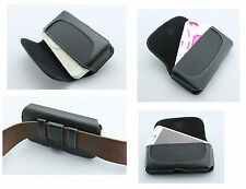 Leather Case Pouch Side Clip Cover Perfect Fit ShockProof Cell Phone Holster