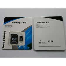 16GB 8GB 4GB Micro SD SDHC Flash Memory Card With Free Adapter Class 4/6/10 TFSD