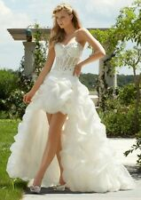 New Stock White Wedding Dress Bridal Gown Stock Size:6/8/10/12/14/16/18