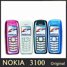 Refurbished Nokia 3100 UNLOCKED Phone with 1y Warranty White, Red and BLUE bar