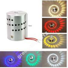 Modern RGB Led Wall Light 3W 110V/220V KTV Karaoke Bar Decoration Wall Lamps