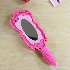 New Luxury Magic Silicone Soft Barbie Mirror For iPhone 6 6 plus 5 5s Phone Case