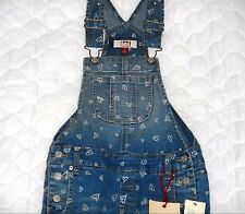 Girls L.E.I. Blue Denim Overalls~NWT~Light or Medium Wash S-XL~Choose Sz/Pattern
