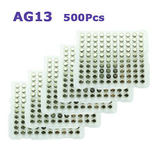 500 x 1.5V Button Coins Cell Battery AG10 LR1130 189 54 AG13 357A LR44 357 A76