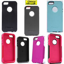 NEW AUTHENTIC OtterBox Commuter Series Case iPhone 5 5S Black White Pink Blue