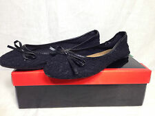 BUCCO CROCHET BALLERINA FLAT IN BLACK  8