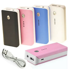 5600mAh External Battery Power Bank Charger For Apple iPhone Samsung Cell Phone