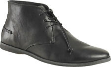 Kickers River 2 Laced Ankel Boots Black Leather Mens Shoes size US 7.5-12