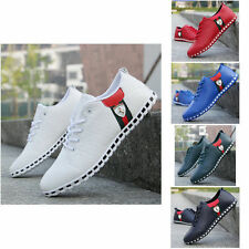 New Fashion England Men's Breathable Recreational Athletic Sneakers Casual Shoes