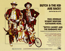 """""""BUTCH CASSIDY AND THE SUNDANCE KID """" Poster Film Vintage Mis. A1 A2 A3 A4"""