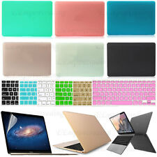 Protective Hard Case for Apple Macbook /MacBook Pro Laptop + Screen Film + More