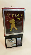 Victor 77 25c Golf Ball Candy Cola Gumball Toy Coin Operated Vending Machine