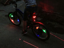 Bike Bicycle Cycling Wheel Spoke Tire Wire Tyre Bright LED Light Lamp 4 colors