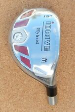 New Men's I-DRIVE Hybrid R/H+Aldila Graphite Shaft Installed, U Pick Loft/Flex