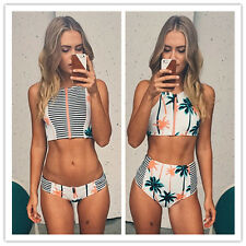 Sexy Women Push up Padded Bra Bandage Bikini Set Swimsuit Swimwear Bathing Set