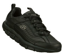 Skechers 76990 BLK Men's SHAPE UPS LIV SR-BRAWNY Work Shoes On Sale!