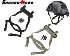 1x Tactical MICH Helmet Retention System H-Nape Chin Strap Gear Airsoft Hunting