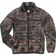 REALTREE XTRA MEN'S LIGHTWEIGHT PACKABLE DOWN JACKET CAMO CAMOUFLAGE NEW