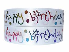 16th 18th 21st 40th 50th 60th 70th 80th Birthday Ribbon For Birthday Cakes Gifts
