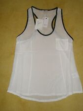 NWT Joie Porcelain Alicia D Silk Tank Top $138.00 Size S