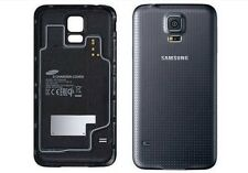 NEW Samsung Galaxy S5 OEM Wireless Charging Battery Back Cover Case White/Black