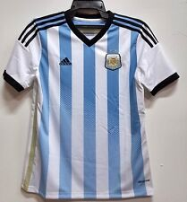 BNWT ARGENTINA HOME WORLD CUP KIT YOUTH KIDS BOYS FOOTBALL SOCCER JERSEY 2014