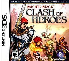 MIGHT & MAGIC Clash of Heroes COMPLETE EUC Video Game Nintendo DS